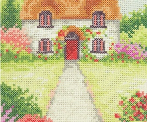 Embroidery Mixed technique kit Charivna mit #A-155 See breeze Sea 30x23.5 cm 11.81x9.06 in